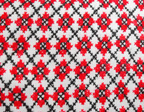 Ukrainian national embroidery Royalty Free Stock Photo