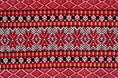 Ukrainian national embroidery pattern Stock Image