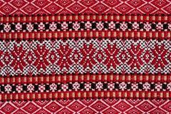 Ukrainian national embroidery pattern Stock Image