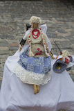 Ukrainian national folklore doll motanka Royalty Free Stock Images