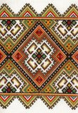 Ukrainian national style of embrioder. Textured pattern of Ukrainian national style  embrioder Stock Images