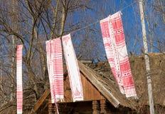 Ukrainian national towels Royalty Free Stock Photo