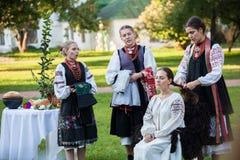 Ukrainian national wedding Stock Photos