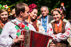 Ukrainian national wedding Royalty Free Stock Photos