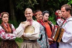 Ukrainian national wedding Stock Photography