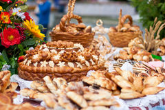 Ukrainian national wedding sweets Stock Photos