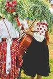 The Ukrainian national woman's suit. The Ukrainian national  woman's suit Stock Images