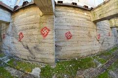 Ukrainian nazionalist tactic training area Royalty Free Stock Photo