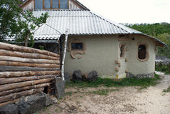 Ukrainian old house Royalty Free Stock Image