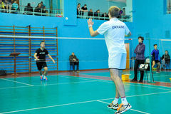 Ukrainian Open Championship of Ukraine badminton Royalty Free Stock Photos