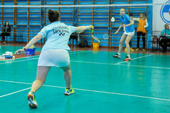 Ukrainian Open Championship of Ukraine badminton Royalty Free Stock Image