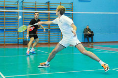 Ukrainian Open Championship of Ukraine badminton Royalty Free Stock Images