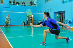 Ukrainian Open Championship of Ukraine badminton Stock Photos