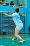 Ukrainian Open Championship of Ukraine badminton Royalty Free Stock Photo
