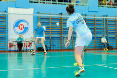 Ukrainian Open Championship of Ukraine badminton Stock Image