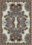 Ukrainian Oriental Floral Ornamental  Carpet Stock Photography