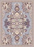 Ukrainian Oriental Floral Ornamental Carpet Design Royalty Free Stock Images
