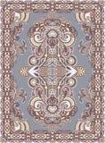 Ukrainian Oriental Floral Ornamental Carpet Design Stock Photography