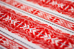 Ukrainian ornament embroidery Royalty Free Stock Images