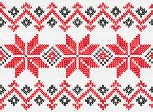 Ukrainian ornament knitting seamless texture. Ukrainian national pattern. Knitted, related, seamless texture Stock Photography