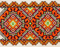 Ukrainian ornamental pattern Royalty Free Stock Image