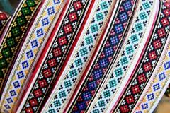 Ukrainian ornaments Stock Images