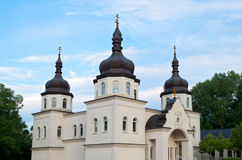 Ukrainian Orthodox Church and Entrance Royalty Free Stock Photo