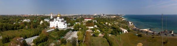Ukrainian Orthodox Church of the Moscow Patriarch, Holy Assumpti stock photo