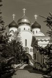 Ukrainian Orthodox Church of the Moscow Patriarch, Holy Assumpti stock photos