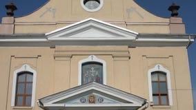 The Ukrainian Orthodox Church in Romania stock video