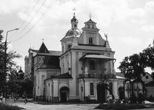Ukrainian orthodox church. SAMBIR, UKRAINE 0 9 June 2009: Church of Nativity of the Blessed Virgin Mary Royalty Free Stock Photos
