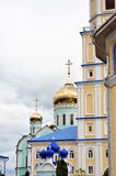 Ukrainian Orthodox monastery Stock Photo