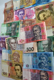 Ukrainian paper money Stock Image