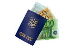 Ukrainian passport Royalty Free Stock Photo