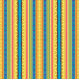 Ukrainian pattern. Ukrainian ethnic seamless pattern, graphic illustration Stock Images
