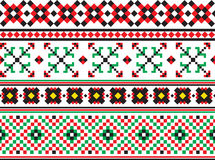 Ukrainian pattern Royalty Free Stock Photography