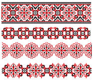 Ukrainian pattern embroider Royalty Free Stock Images