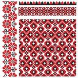 Ukrainian pattern embroidery Stock Image