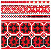Ukrainian pattern embroidery Stock Photography