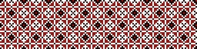 Ukrainian pattern royalty free stock photography