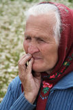 Ukrainian peasant Stock Photo