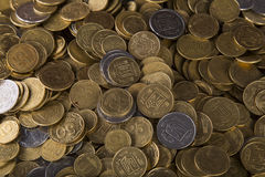 Ukrainian penny Royalty Free Stock Photos