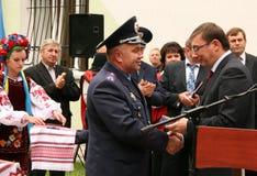 Ukrainian politician Yuriy Lutsenko Stock Images