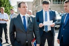 Ukrainian politicians Royalty Free Stock Images