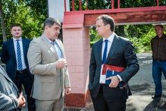 Ukrainian politicians Stock Images