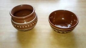 Ukrainian retro pottery royalty free stock photo