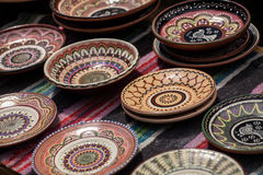 Ukrainian pottery Royalty Free Stock Photography
