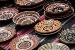 Ukrainian pottery Royalty Free Stock Photography