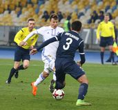 Ukrainian Premier League: Dynamo Kyiv v Olimpik in Kyiv Royalty Free Stock Photos