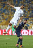 Ukrainian Premier League: Dynamo Kyiv v Olimpik in Kyiv Stock Photography